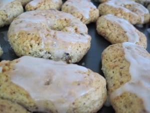 biscotti con glassa al limone