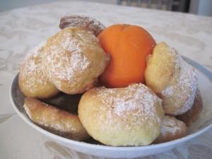 biscotti arancia ed olio