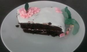 torta al cioccolato e ricotta