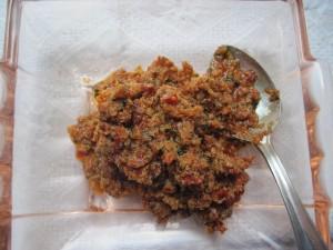 patè di pomodori secchi e ricotta
