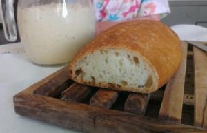 pane con pasta madre senza glutine