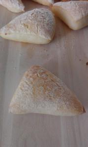 Triangolini di pane senza glutine