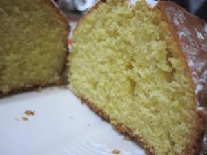 plum cake mais limone