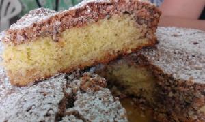 Torta amaretto senza glutine